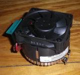60mm CPU Cooling Fan & Heatsink for Socket 478 Pentium IV - Part # FAN160