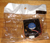 40mm X 28mm 12V Computer Equip, Power Supply Cooling Fan - Part # FAN4028C12H