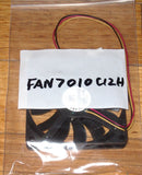 70mm X 10mm 12Volt Computer Case, Power Supply Cooling Fan - Part # FAN7010C12H