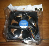 High Speed 92mm Case, Power Supply Cooling Fan - Part # FAN9225C12HH