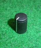 15mm x 10mm Diam Instrument / Audio Knob with 6mm Splined Shaft - Part # FC7249
