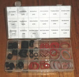 141 Piece Assorted Rubber & Fibre Sealing Washer Kit - Part # FD-6044