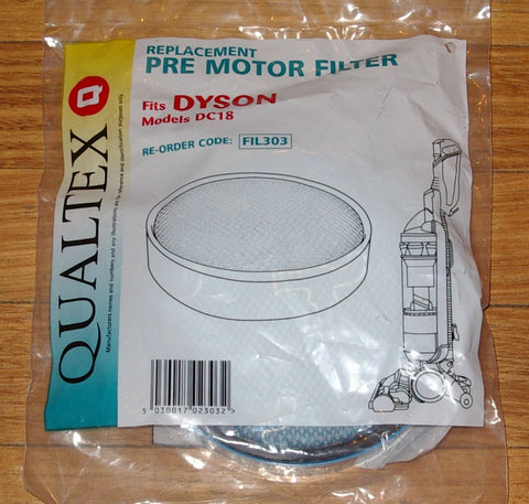 Dyson DC18 Vacuum Compatible Pre Motor Filter - Part # FIL303