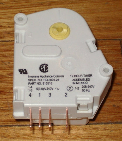 12Hr 20Min N-Series Fridge Defrost Timer - Part # FP813516P, 813516P, RFP024