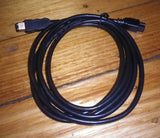 Computer Lead - IEEE-1394b Firewire 9P Male to 6P Male, 2metres - Part # FW8202