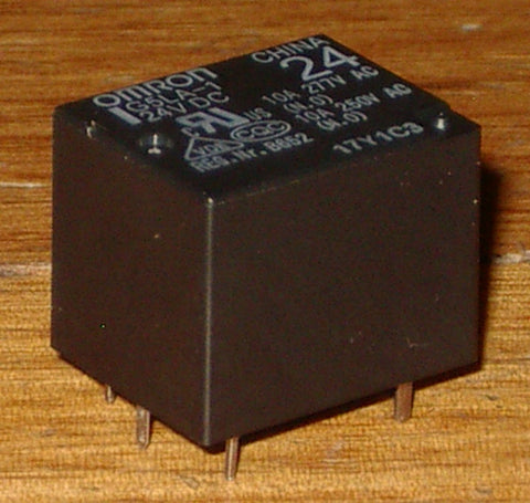 Omron 24Volt Relay - SPDT 240VAC, 10Amp Contacts - Part # G5LA-1-24