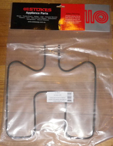 Technika 1300Watt Bottom Oven Element - Part # GC566-1170