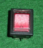 Cleanstar AS5 Illuminated DPST Mains Rocker Switch with Cover - Part # GH2506232
