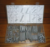 200 Piece Assorted Tension & Compression Spring Kit - Part # HP0638