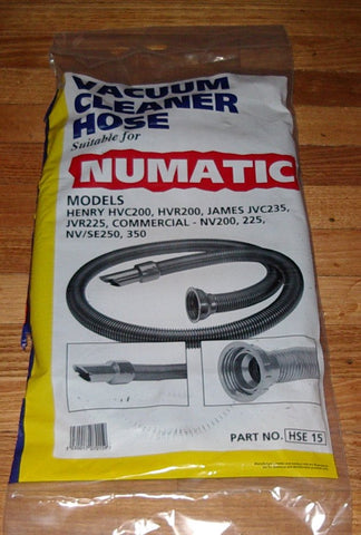 Numatic Complete Vacuum Hose - Part No. VH015