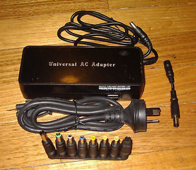 Universal 15-24Volt 8.5amp Switchmode Laptop AC Adaptor - Part # SMP150W