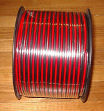 100Metres 15Amp Automotive Twin Cable Red & Black Colour Coded - Part # AW1861