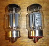Svetlana Platinum Matched Pair of KT88 Audio Output Valves - Part # KT88SVPL