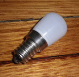 LED Warm White Fridge Globe 1.5Watt SES Miniature Pilot - Part # LBL-BC1-W1