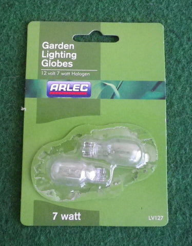 Arlec 7Watt 12Volt Halogen Wedge Globe with T15 Base (Pkt 2) - Part # LV127