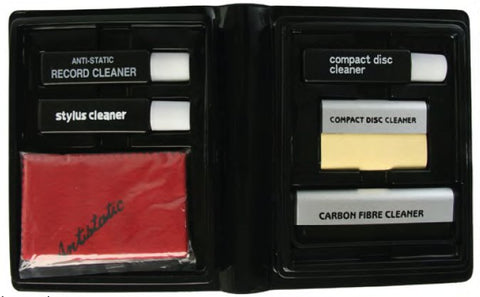 Professional Vinyl LP Record & CD Cleaning Kit - Part # MHFC-2