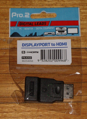 DisplayPort Male to HDMI Female Digital Video Adaptor - Part # PA4350