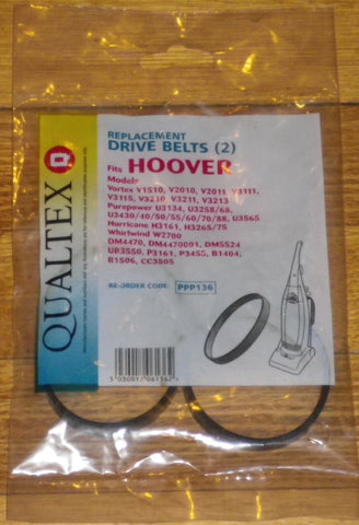 Hoover PurePower Powerdrive Belts (2 of) - Part No. PPP136