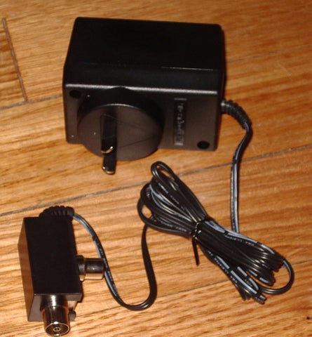 12Volt DC TV Masthead Amplifier Power Supply with PAL Connectors Part # PSK01