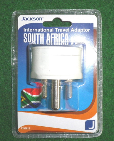 Jackson Australian/NZ to South Africa Travel Plug Adaptor - Part # PTA8812