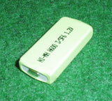 Prismatic NiMH 600mAh Rechargable Battery - Part # RB602
