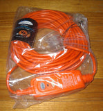 20metre 10amp Extension Cable with In-Line Earth Leakage RCD - Part # RCD-CE2010