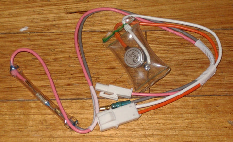 Toshiba MM2-287 Defrost Cutout Thermostat & 70degC Thermal Fuse - Part # RF190J