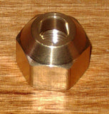 "Brass 3/8"" SAE Flare Union With Flare Nuts - Part # RF422KIT"
