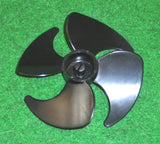 10cm Plastic CW Fan 3mm Mounting & 4 Blades - Part # RF045