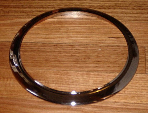 Glass Top Stove 180mm Chrome Trim Ring - Part No. SE134