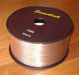 100 Metres (100m, 100mtr) 20AWG Medium Speaker Cable Colour Coded - Part # SPW1618