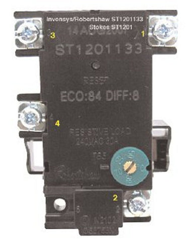 Electric Hot Water Thermostat & Cutout 50-70 Degrees C - ST1201133