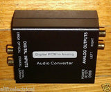 Stereo Digital to Analog Audio Convertor - Part # PRO1259