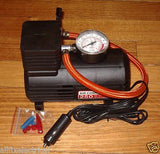 Handy Mini Auto 12Volt Air Compressor 250PSI with Nozzles - Part # MCP250