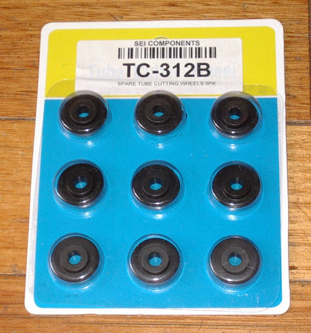 Quality Copper Tubing Cutter Blades (Pkt 9) - Part # TC-312B
