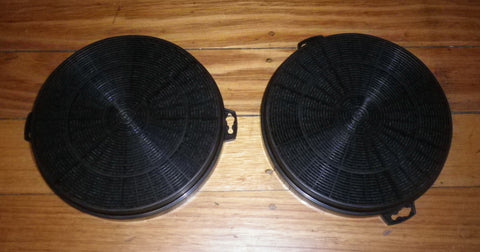 AR500CF Compatible Rangehood Round Charcoal Filter (Pkt 2) - Part # ULX252