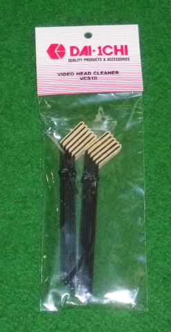 75mm Angled Chamois Cleaning Swabs (Pkt 10) - Part # VCS10