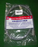 Universal 2.5metre Washing Machine Outlet Hose 22mm & 34mm Ends - Part # W079
