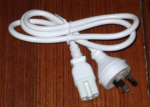 IEC Kettle & Jug Appliance Cord, 1metre White - Part # ACL140
