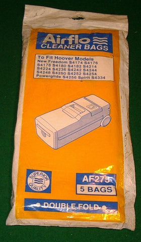 Hoover Freedom, Powerglide Vacuum Cleaner Bags - Part # AF275
