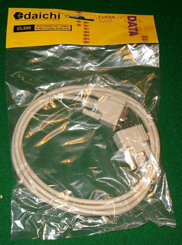 Computer Lead - DB9 Male to DB9 Female Serial Extension - 1.8mtr - Part # CL220