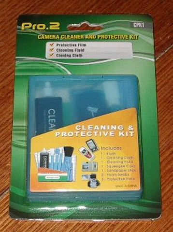Digital Camera & Lens Cleaner & Protective Kit - Part # CPK1