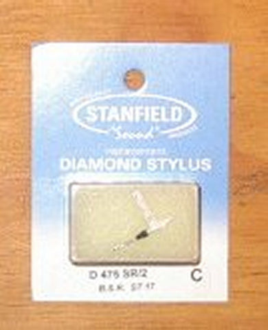 BSR ST16, ST17 Compatible Turntable Stylus. Stanfield Part No. D475SR/2