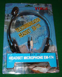 Yoga Telecommunications Headset & Microphone - Part # EM174