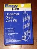 Universal EasyFit Dryer Air Vent Kit suits Fisher & Paykel Dryers - Part # D410