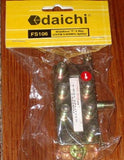 Dai-ichi 6Way F-Connector Type Coax TV Antenna Splitter - Part # FS106
