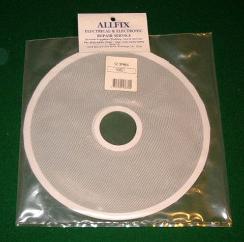 Early Hoover Dryer & Fisher Paykel AD39, DE35 Mesh Filter - Part # HD027