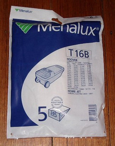 Hoover Compact Series Vacuum Cleaner Bags. - Part # T16B