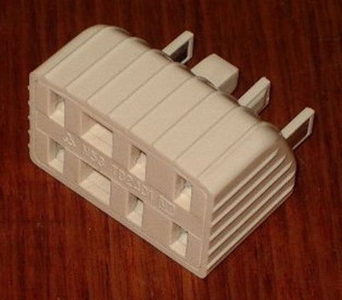 Standard Telephone Socket Double Adaptor - Part # TD2401