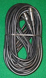 10metre Black Male to Male Coax Flylead - Part No TVL5B